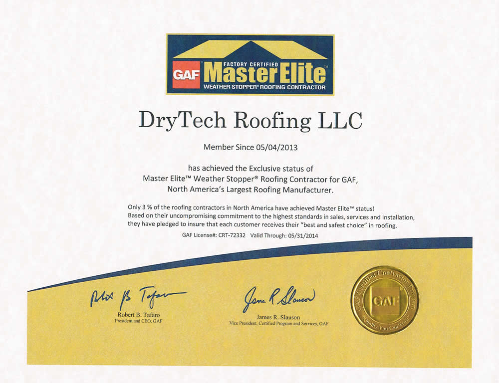 DryTech License, Maryland